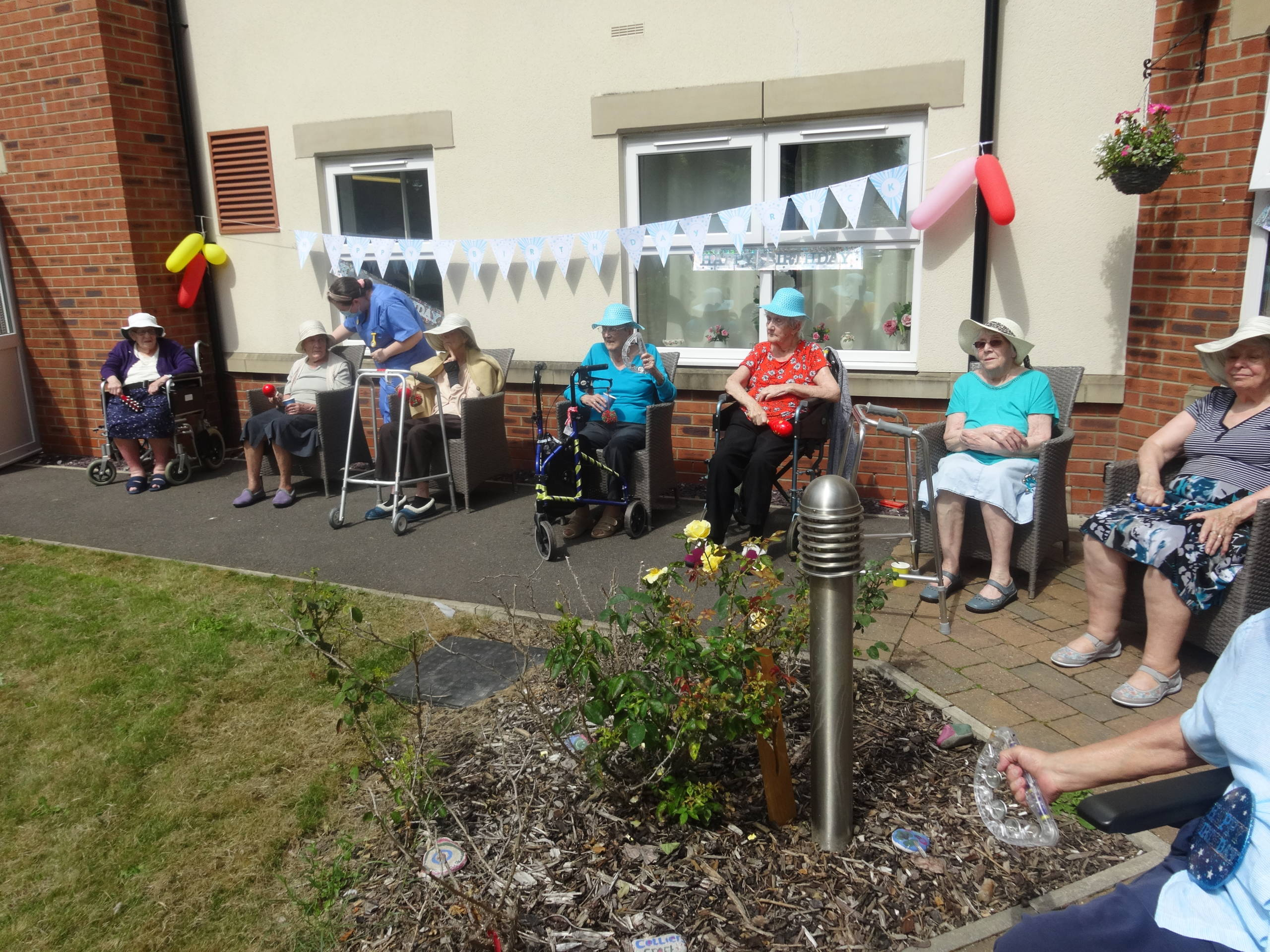Collier's Croft Residential Care Home Party