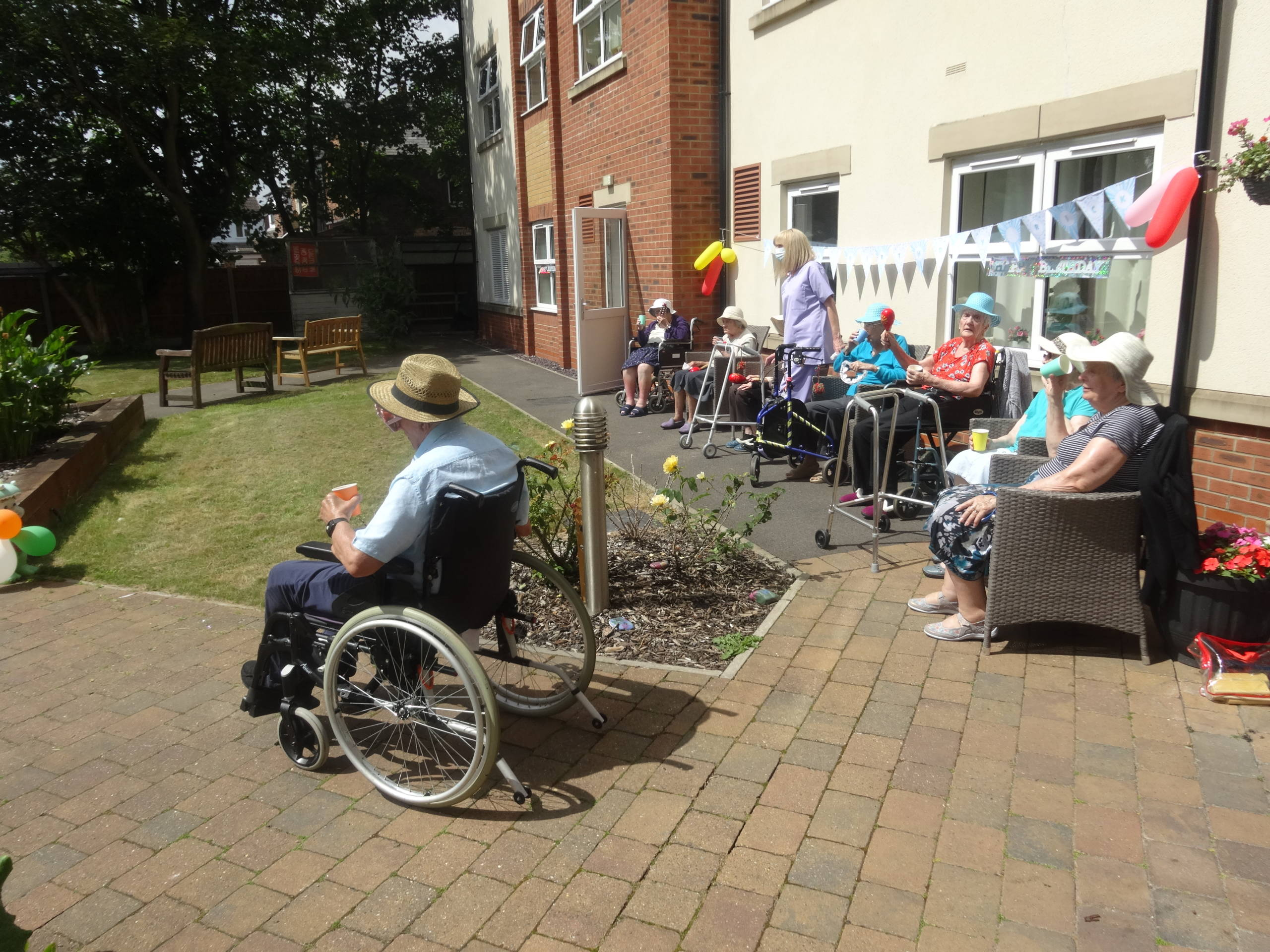 Collier's Croft Residential Care Home Party 2