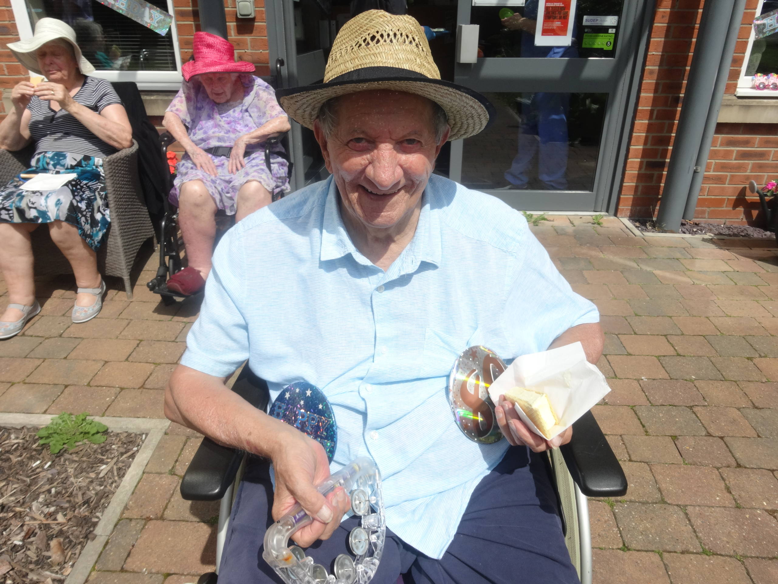 Colliers Croft Residential Care Home Resident